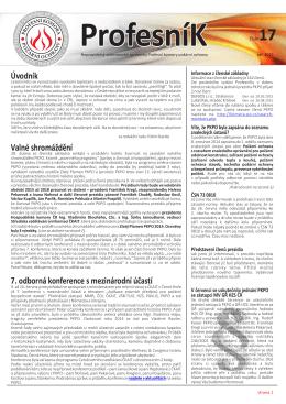 ProfesníK 17/2015 - Profesní Komora Požární Ochrany