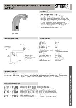 Katalogový list ve formátu PDF