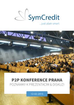 P2P KONFERENCE PRAHA