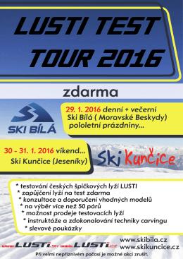 29. 1. 2016 denní + večerní Ski Bílá ( Moravské Beskydy