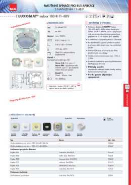 | LUXOMAT® indoor 180-r-11-48V