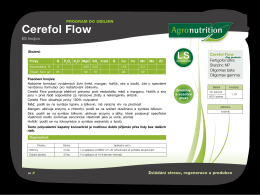 Cerefol Flow - Agro Aliance sro
