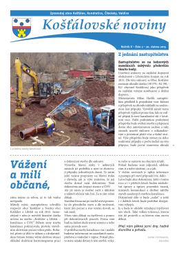 Košťálovské noviny
