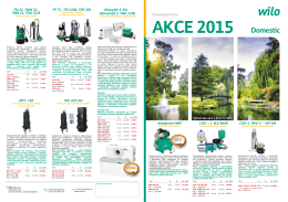Akce WILO 2015