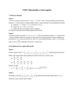F1031 Matematika o krok napřed