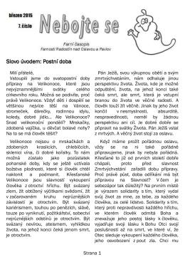 Farní časopis - 7. číslo