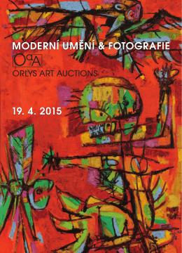 moderní umění & fotografie 19. 4. 2015