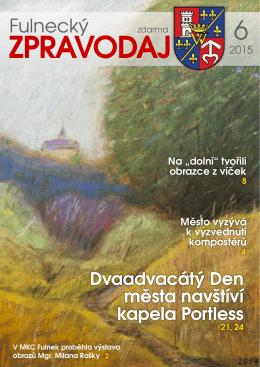 Fulnecký zpravodaj 6/2015