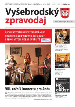 Viii. ročník koncertu pro Andu