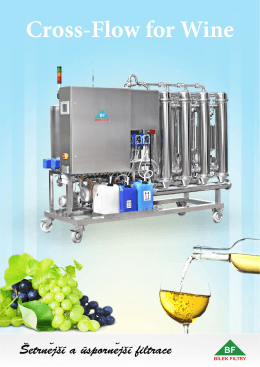 Filtr FCW - CrossFlow for wine