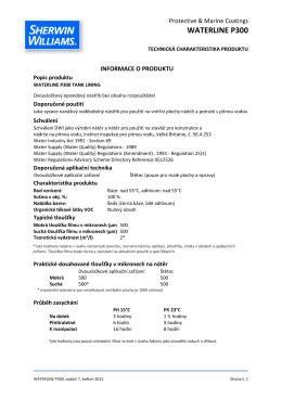 WATERLINE P300 - ALLGARD coatings