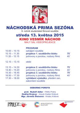 Program v PDF - Impuls Hradec Králové