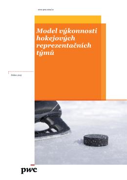 Model výkonnosti hokejových reprezentačních týmů