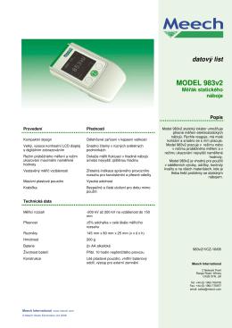 MODEL 983v2 - Limex