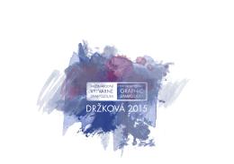 Katalog Sympozium 2015