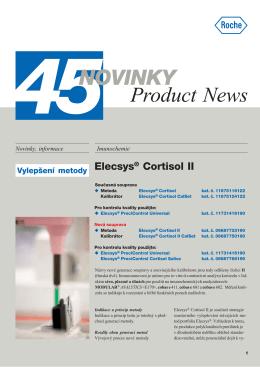 Novinky - Product News 45