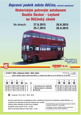 Dopravní podnik města Děčína,akciová společnost