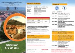 MIKULOV 4.–6. září 2015