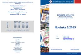 Lékařská knihovna - Projekt Modernizace Krajské nemocnice