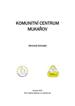 konceptem Komunitního centra Mukařov - Mukařov