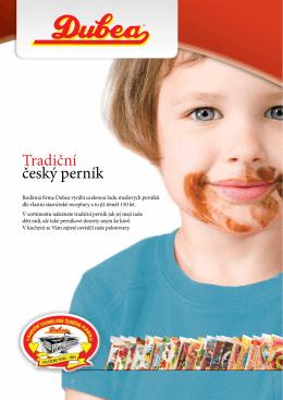 Tradiční český perník