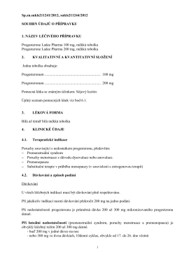 Sp.zn.sukls211241/2012, sukls211244/2012 SOUHRN ÚDAJŮ O