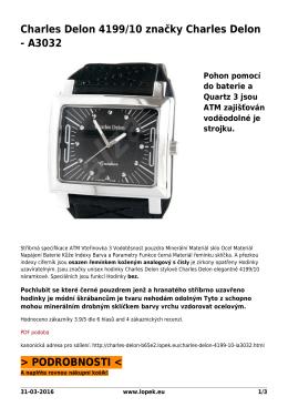 Charles Delon 4199/10 značky Charles Delon - A3032