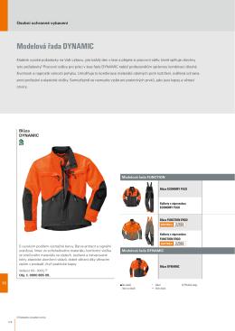 Srovnání parametrů lesnického oblečení Stihl