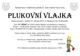 plukovka plakat 2015 singl