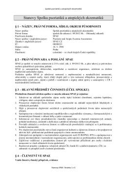 Stanovy_SPAE schvaleno 2015-03-07