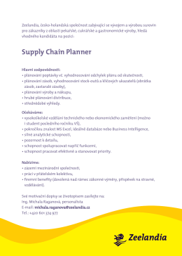 Supply Chain Planner