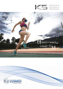 K5-prospekt pro přenosný metabolický systém - S