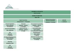 Organizační schéma 2015