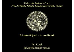 Atomové jádro v medicíně