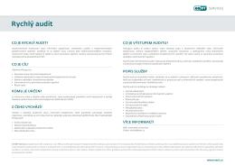 Rychlý audit