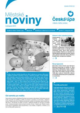 Listopad - Městské noviny Česká Lípa