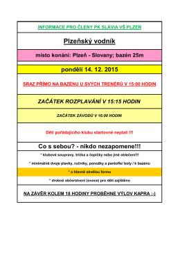 Bližší informace k Plzeňskému vodníkovi