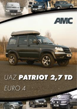 UAZ PATRIOT 2,7 TD EURO 4