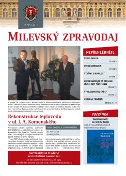 Milevský zpravodaj 8-2015