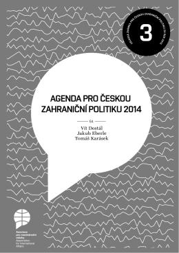 Agenda pro českou zahraniční politiku 2014