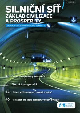 základ civilizace a prosperity - Společnost pro rozvoj silniční dopravy