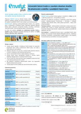 ENVIFYT profi, 461 kB - Envi Produkt, s.r.o.