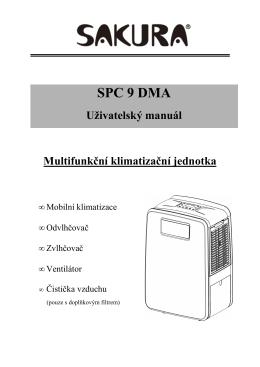multifunkční jednotka SPC 9 DMA