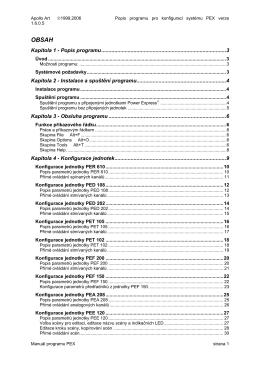 Kapitola 1 - Popis programu