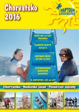Katalog 2016 - CK Hap Tour
