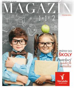 platnost 24. 8. – 31. 10. 2015 - Obchodní centrum Varyáda (Karlovy