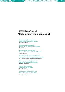 Katalog 2015 - Film festival Zlín