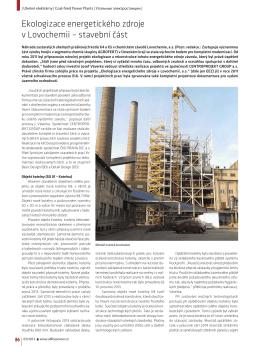 Ekologizace energetického zdroje v Lovochemii