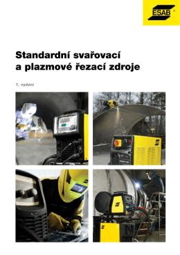 Kompletní KATALOG standardních svařovacích zdrojů