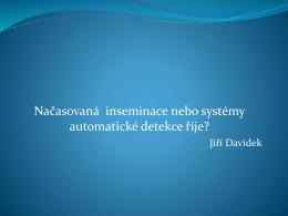 MVDr. Davídek - TAI versus Aktivometry